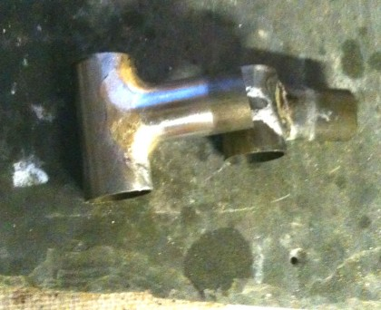 fillet brazed joint